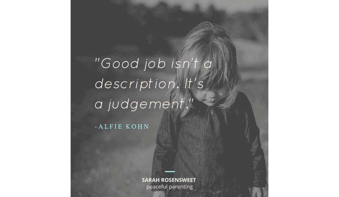 """""""Good Job"""" is a Judgement"""