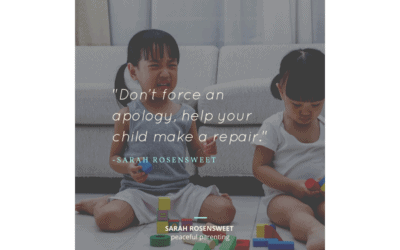 Focus on Repairing Not Apologizing