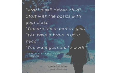 Want a Self-Driven Child?