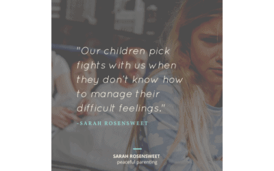 Why Our Children Pick Fights with Us