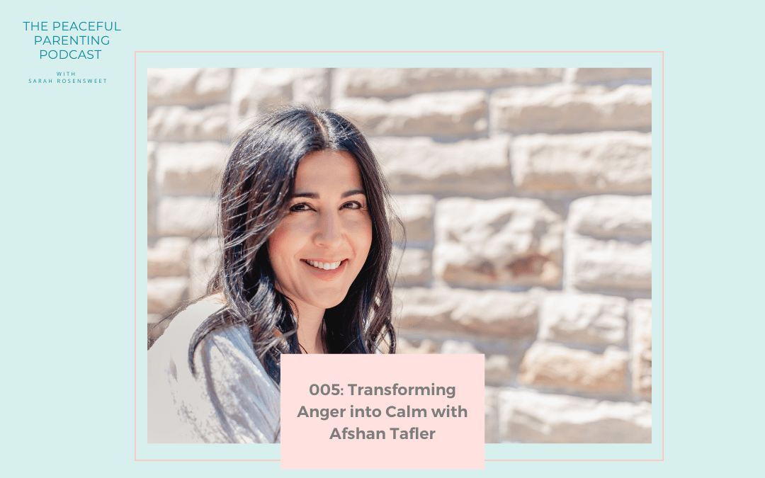 Episode #5: Transforming Anger into Calm with Afshan Tafler