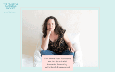 Episode 19: When Your Partner Is Not On Board with Peaceful Parenting with Sarah Rosensweet